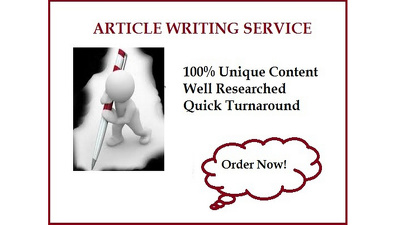 Write 200 words well researched article or blog post on any topic or niche