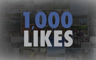 Add 1000 Fan Page or 1000 Twitter Followers