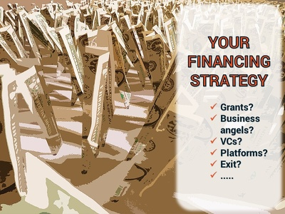 Formulate an analysis and action plan of your financing strategy (+ M&A services)