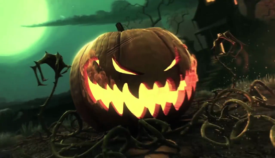 Create very unique halloween video with your logo