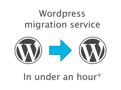 Migrate your wordpress site to a new location