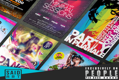 Design Professional Eye Catching Flyer