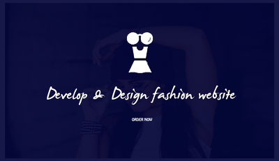 Design fashion website/blog