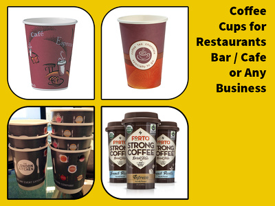 Design your new restaurant or coffee shop cup