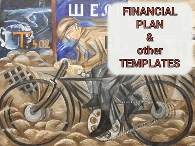 Prepare a custom financial plan template specific to your seed stage business