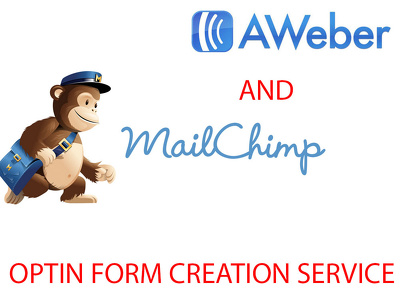 Create mailchimp and aweber optin form