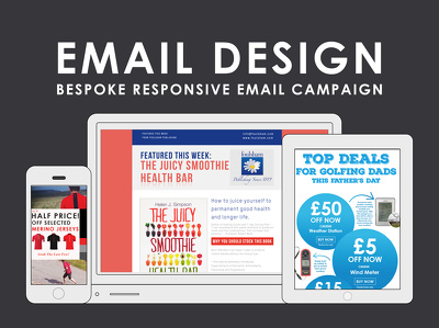 Design & manage professional Mailchimp email campaign /newsletter / e-shot / mailshot