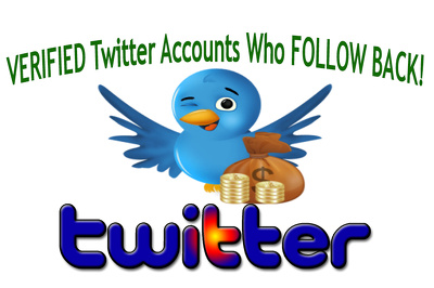 Add List of 600 Verified Blue Badge Users Who Follow Back on Twitter
