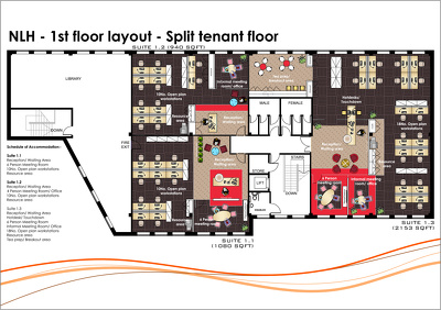 Draft a 2D floor plan in Autocad format