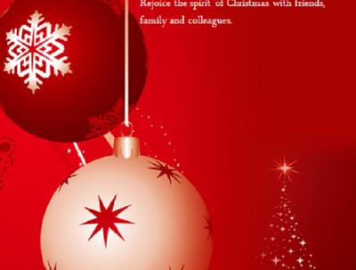 Design Single Sided Christmas Flyer