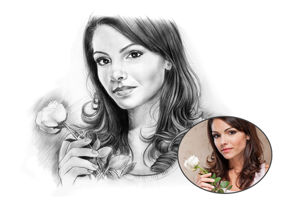 Create Personalised Pencil Sketch Hand Drawn From Your Photos