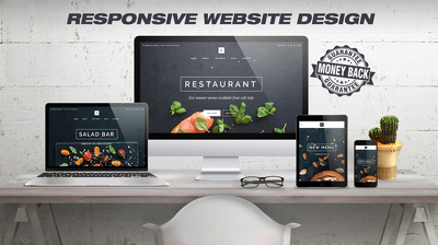 Design & develop responsive, fast loading & SEO friendly Wordpress Website