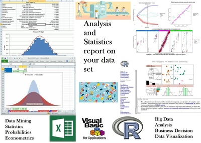 Analysis and Statistics report on your data set