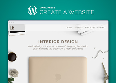 Create a responsive and modern Wordpress Website