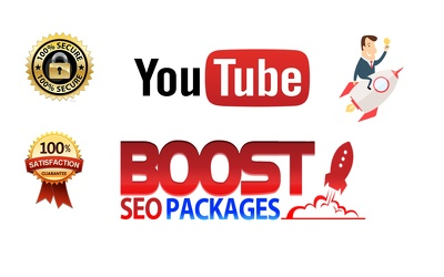 YouTube SEO - 3000 views + 200 likes + 100 subscribers and 10 Comments