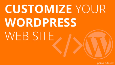 Install and customize any wordpress theme to your site