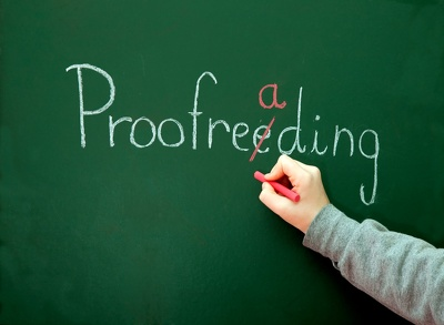 Proofread up to 2000 words and amend accordingly (for books, websites etc)