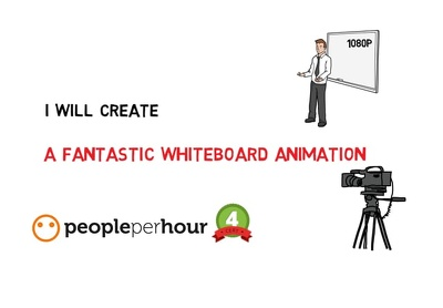 Create a 500 words professional Whiteboard Animation 1080p