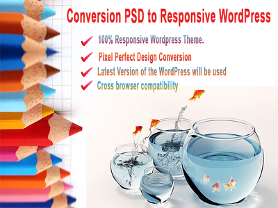 Conversion psd to responsive WordPress