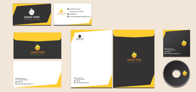 CORPORATE STATIONERY +UNLIMITED REVISIONS+ALL FINAL FILES+DELIVERY IN JUST 2 HOURS!!