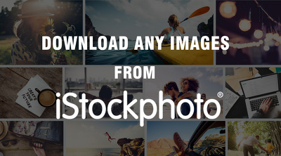 "Download ""ONE"" image from ISTOCK website for you"