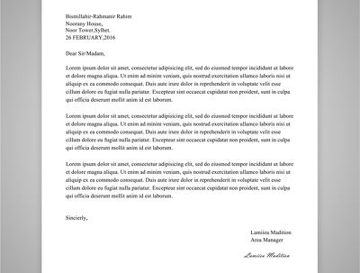 Design PROFESSIONAL letter head