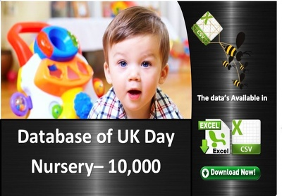 A comprehensive database of UK Day Nursery database