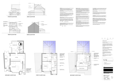 Planning Application Drawings/Building Regulation Drawings Extension/Conversion