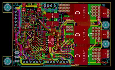 Design 100 pins PCB