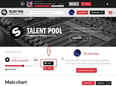 Bring 250 spinnin records talent pool votes on your contest or followers or comments