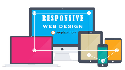 Make Existing Website Fully Responsive Supports All (Mobile ,Tablet, Laptop ,Desktop)