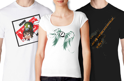 Design you an awesome t-shirt