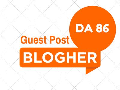Publish a guest post on BlogHer DA86 PR6 with dofollow link Blogher.com