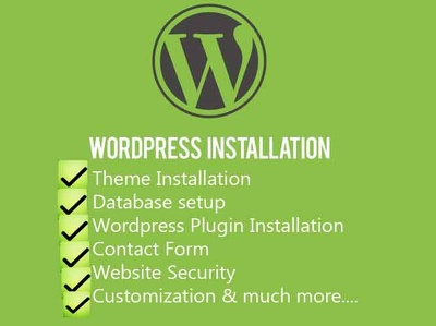 Setup and Install Full Wordpress Website with More Features