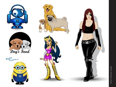 Draw professional and artistic, MASCOT & LOGO design