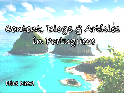 We Can Write 1000 words Blogs, Articles and Content in Portuguese