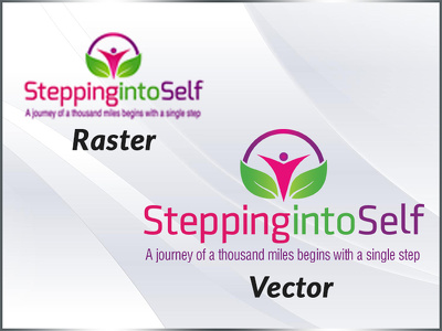 update your existing logo or convert it into higher resolution