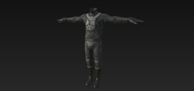Model, Unwrap, Bake and Texture 3D Character - Game Ready - Low-Poly