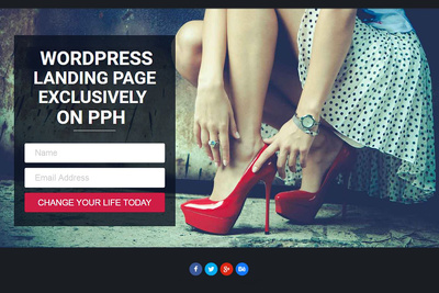 Create Awesome WordPress Landing page or Squeeze page