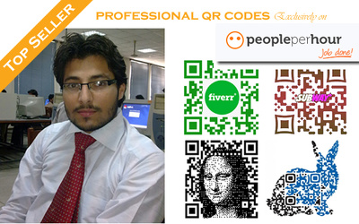 Create perfect QR code to complement your branding