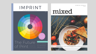 Design your magazine/brochure front cover with unlimited revisions