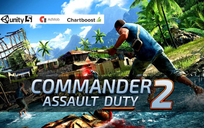 "Unity 3D  First Person Action Shooter Game ""Commander Assault Duty 2"" Android & IOS"