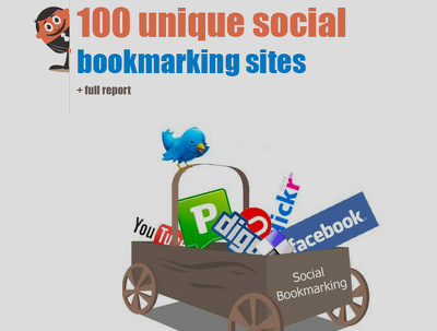 Bookmark your link to 100 unique social bookmarking sites
