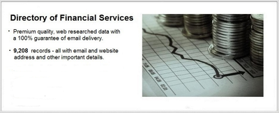 give you database of Financial Institutions in UK