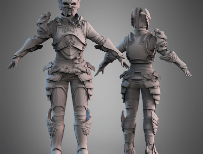 Produce realistic and stylised models for print or render