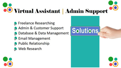 Perform Virtual Assistance | Admin Support for 01 hour