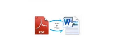 Convert pdf file into word document.