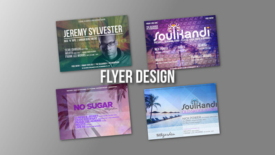 Design Your Flyer, Poster or Leaflet - 100% PPH Level 5