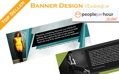 Design eye loving GIF Animated Web Banner