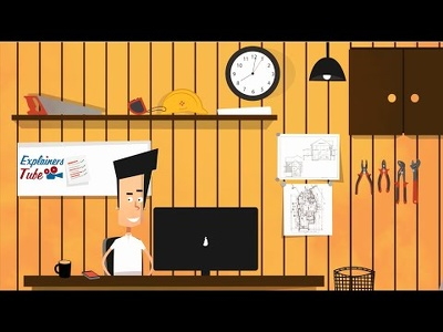 Create a custom explainer animation video using after effects